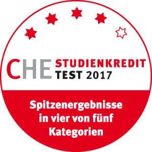 CHE Studienkredit Test 2017