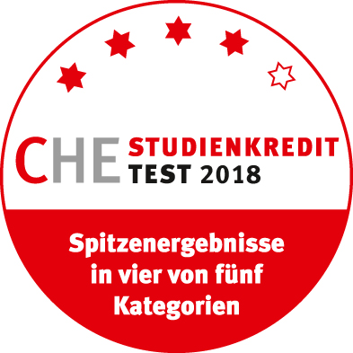 CHE Studienkredit Test 2018